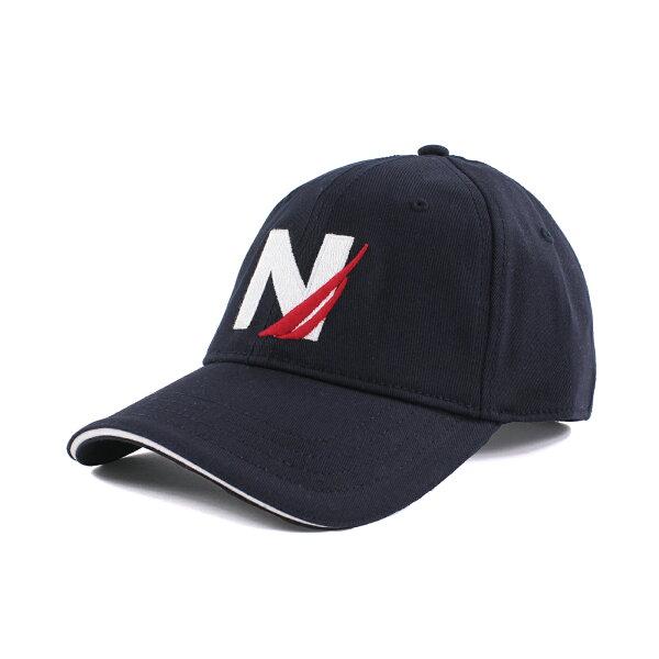 美國百分百【全新真品】NAUTICA 帆船牌 帽子 配件 棒球帽 男帽 遮陽帽 鴨舌帽 LOGO 深藍 S號 F603