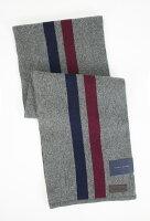 聖誕節禮物推薦到美國百分百【全新真品】Tommy Hilfiger TH圍巾披肩 灰藍紅 條紋 長圍巾 休閒配件 男女 免運