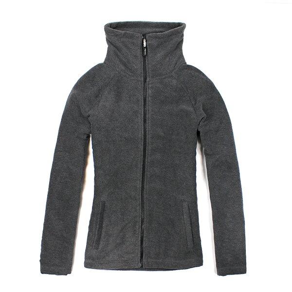 美國百分百【全新真品】Calvin Klein 外套 CK 刷毛外套 輕巧 快乾 fleece 保暖 灰色 女 XS S號 B529