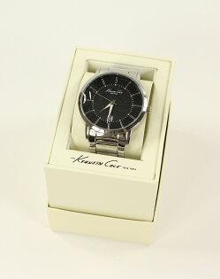 美國百分百【全新真品】Kenneth Cole 手錶 KC 配件 石英錶 不鏽鋼 對錶 禮物 禮盒 黑 男 女 3013