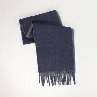 聖誕節禮物推薦到美國百分百【全新真品 】Ralph Lauren 圍巾 RL 配件 披巾 Polo 小馬 藍灰 羊毛 雙面 保暖 男 女