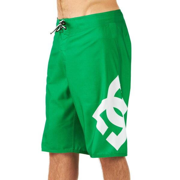 美國百分百【全新真品】DC 褲子 短褲 海灘褲 五分褲 海洋 休閒 Logo 素面 綠 男 28 32 34 36 38 A890