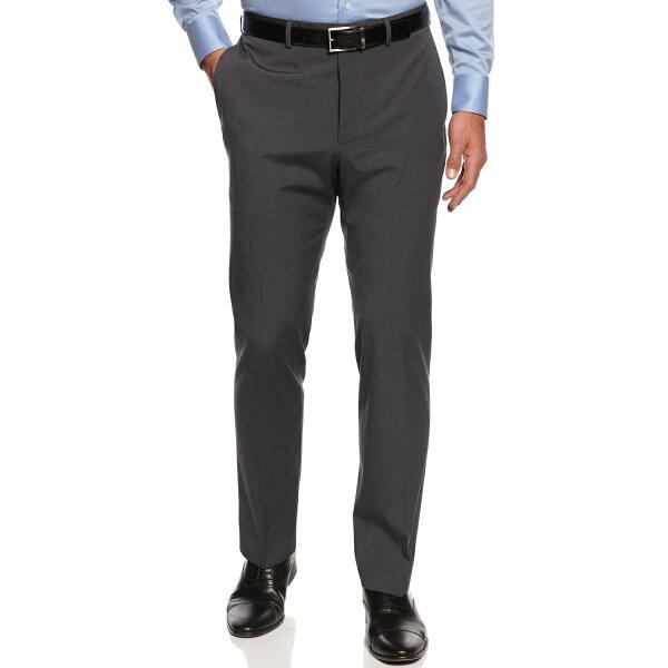 美國百分百【全新真品】Calvin Klein 長褲 西裝褲 合身 上班 灰 30 31 32 33 34腰 E220