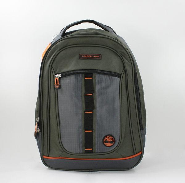 美國百分百【全新真品】Timberland 男 軍綠 後背包 書包 旅行袋 大容量 運動 雙肩 筆電 免運
