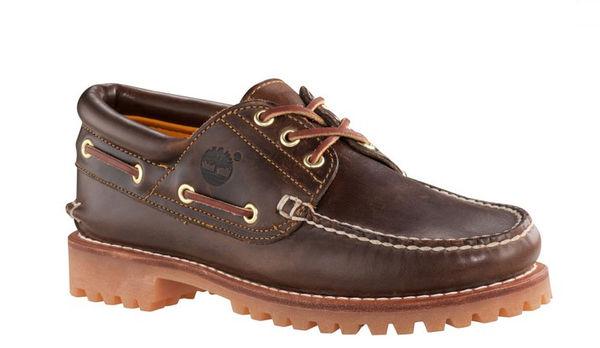 美國百分百【全新真品】Timberland 男鞋 帆船鞋 雷根鞋 牛皮 駝色 皮鞋 30003 新款 6500A 咖啡色 B989