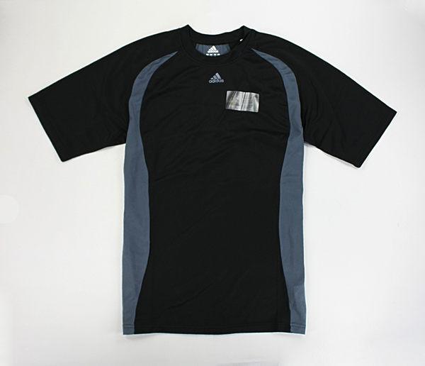 美國百分百【全新真品】Adidas 愛迪達 透氣 快乾 腳踏車 自行車 運動T 打球 男 T恤 T-shirt S號