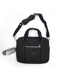 美國百分百【全新真品】KIPLING 手提包 肩背包 斜背包 筆電包 13 -15 黑色 男 女 美國寄件