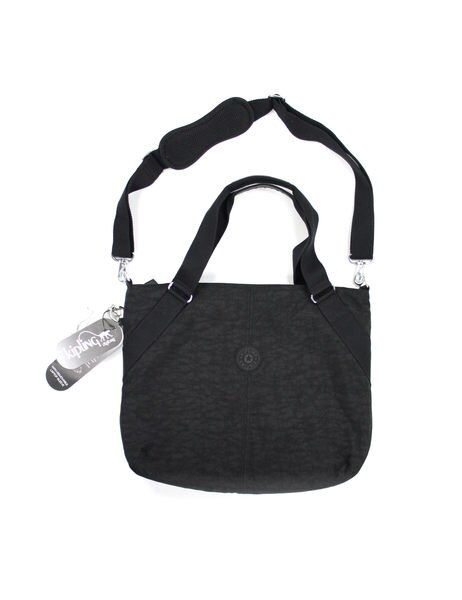 美國百分百【全新真品】Kipling 上班族 業務 手提包 肩背包 筆電包 斜背包 側背包 紓壓背袋 13''-15'' 黑色 男 女