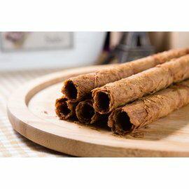 【我的手作幸福】【雪茄蛋捲系列-咖啡蛋捲 5入】我的手作幸福 團購 天然 安心 低糖