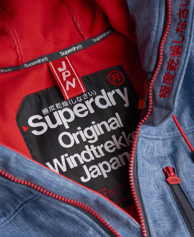 [男款] 英國名品 代購 極度乾燥 Superdry Windtrekker 男士風衣戶外休閒外套 防水 藍灰/叛逆紅 4