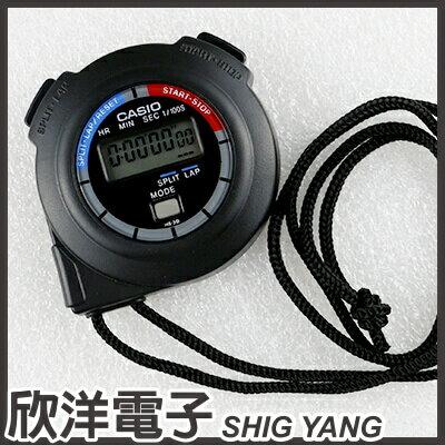 ※ 欣洋電子 ※ CASIO 卡西歐 防水碼錶 HS-3V-1B 跑步、競賽、游泳、運動、計時、速疊杯
