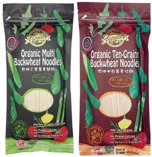 味榮 展康 有機十穀蕎麥拉麵/有機三寶蕎麥麵線 300g 特價$89 非基因改造 傳統手工製麵工法