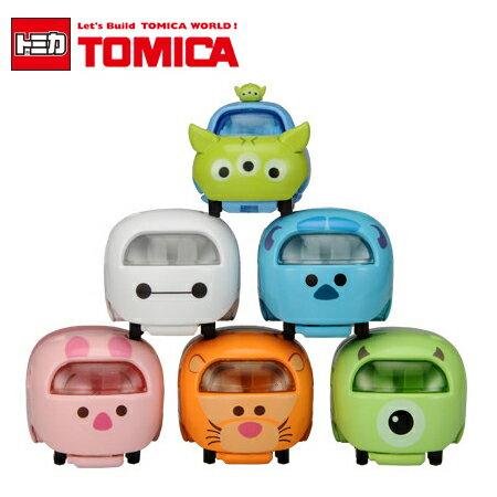 日貨 TOMICA TSUM TSUM系列 多美小汽車 疊疊樂 迪士尼 日本進口 米奇 米妮 維尼 三眼怪 毛怪【B061466】