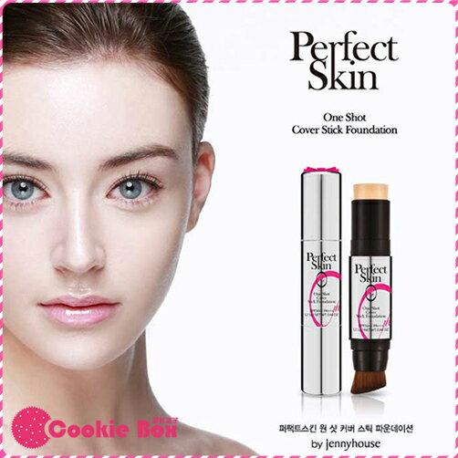 韓國 Perfect Skin 第一代 保濕 精華 粉底條 12.5g 宋智孝 JENNY HOUSE *餅乾盒子*
