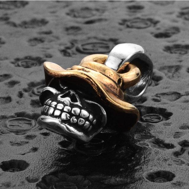 【現貨商品】【STARLINGEAR】漁夫帽骷髏純銀墜飾 (STP072BHSkull  0761090000) 3