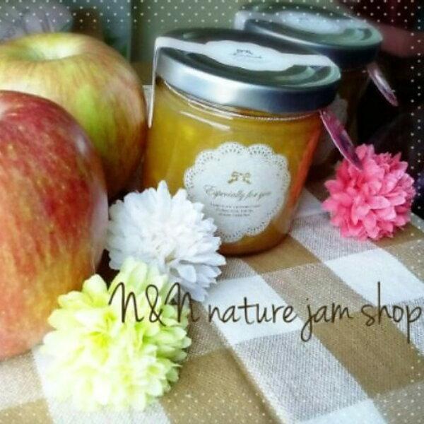 N&N天然手工果醬-蘋果鳳梨口味50ml(絕無添加防腐劑、人工添加物)