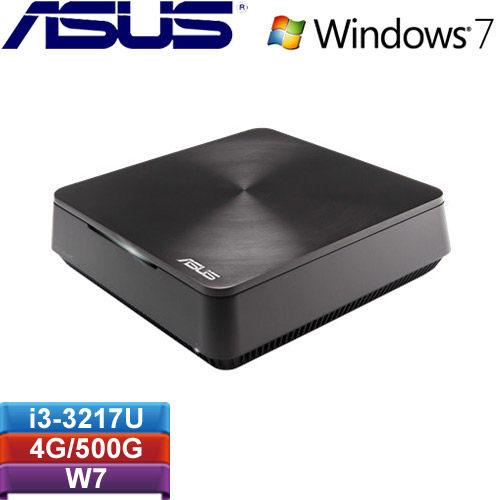 ASUS華碩  VIVO PCVM60-17U57PA 迷你電腦 i3-3217U/4G/500G/Win7P