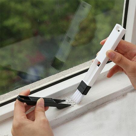 窗戶凹槽清潔刷組 縫隙刷 紗窗清洗工具 縫隙清潔 大掃除【N202071】