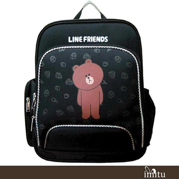 imitu【LINE FRIENDS】EVA護脊書包(熊大_LI-5401A)