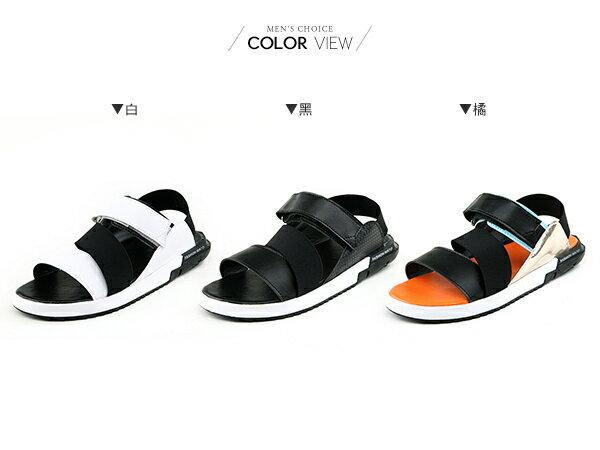 ☆BOY-2☆【JP99019】涼鞋 韓版潮流皮革休閒鞋 1