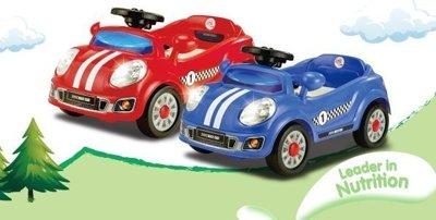 兒童電動跑車 藍色 - 限時優惠好康折扣