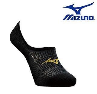 [陽光樂活] 美津濃 MIZUNO 超合腳男路跑襪 J2TX668094 (黑X黃)