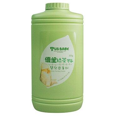 『121婦嬰用品館』優生 綠茶萃取嬰兒爽身粉300g 0