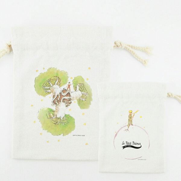 小王子經典版授權 - 束口袋:【 猢猻麵包樹 】