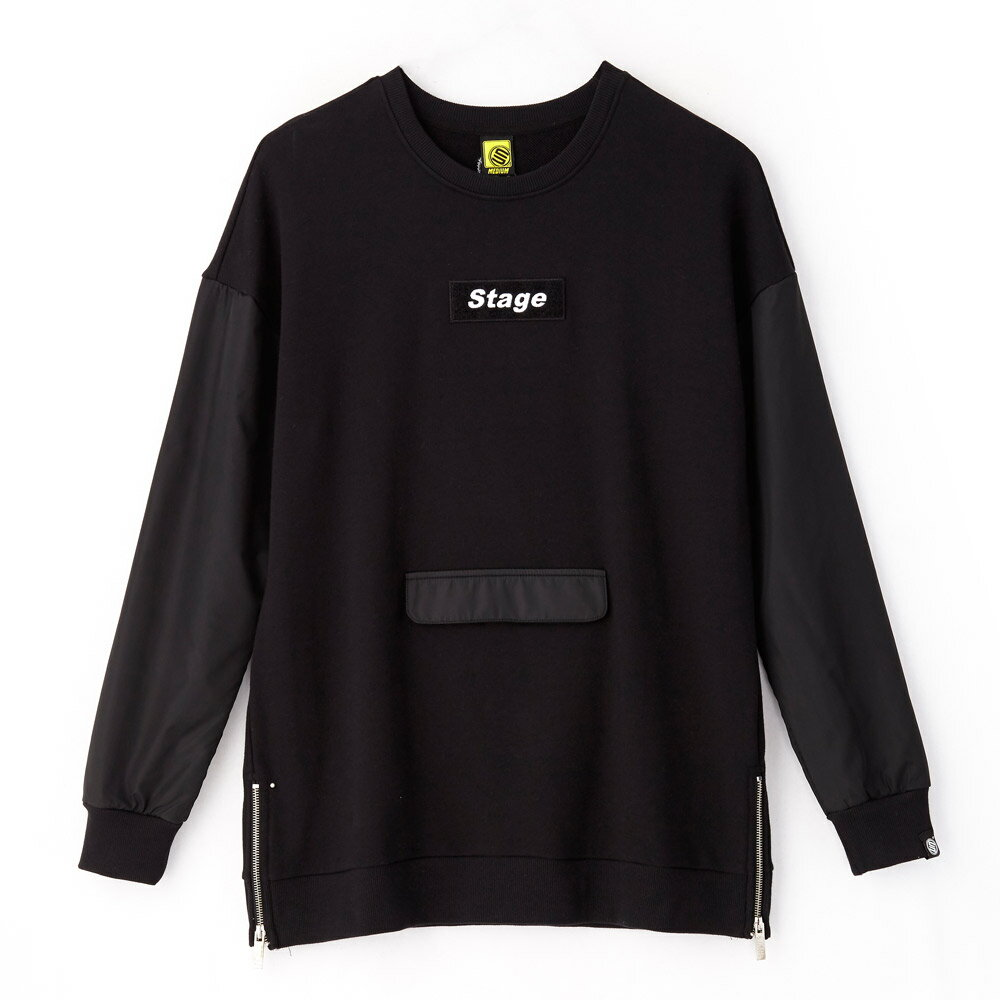 STAGE ARMOUR LS SWEATER 黑色 / 軍綠色 兩色 4