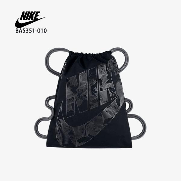 【加賀皮件】NIKE HERITAGE GYMSACK 抽繩 束口袋 束口後背包 休閒包 BA5351-010
