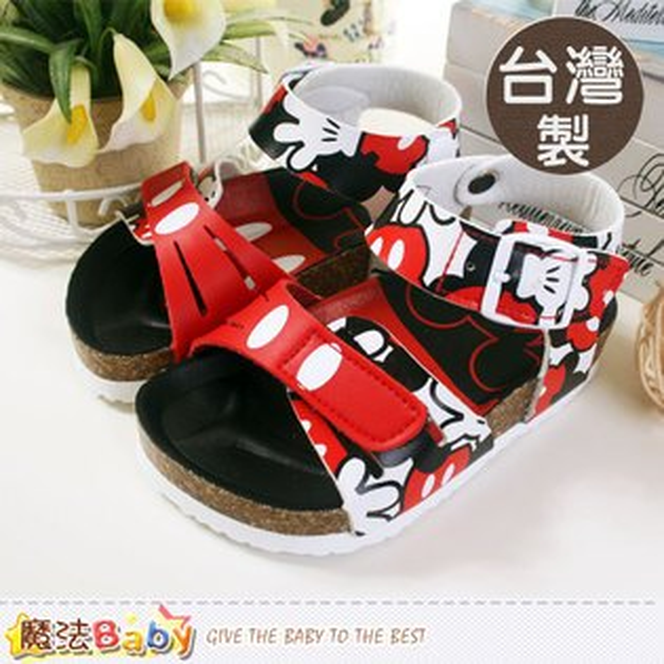 台灣製迪士尼米奇兒童涼鞋 百貨專櫃款 魔法Baby~sh5502
