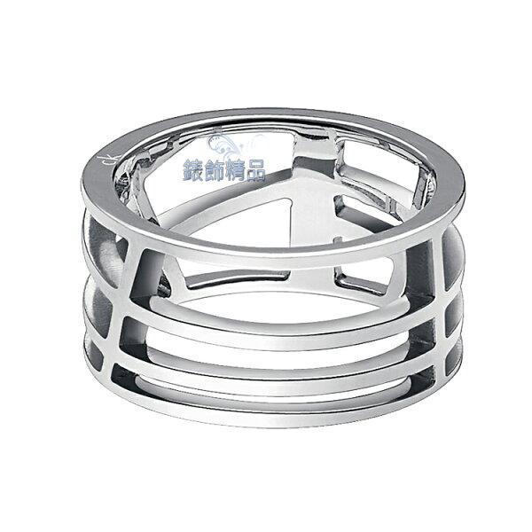 【錶飾精品】CK飾品Calvin Klein女性戒指-銀KJ1T白鋼 KJ1TMR0001 來自星星的你-千頌伊款 全新原廠正品 情人節禮物
