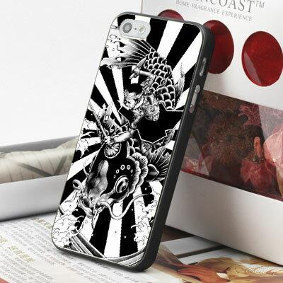 [機殼喵喵] Apple iPhone 6 6S i6 i6P i6S 手機殼 外殼 客製化 水印工藝 WZ130 日本 浮世繪