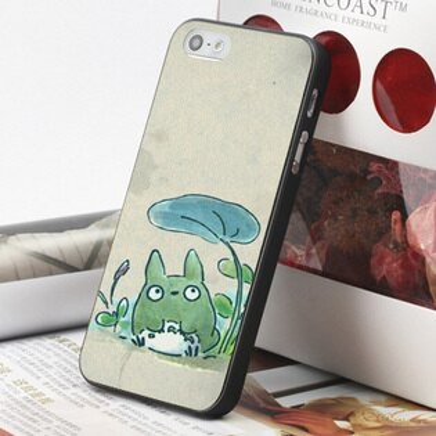 [機殼喵喵] Apple iPhone 6 6S i6 i6P i6S 手機殼 外殼 客製化 水印工藝 WZ138 龍貓