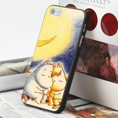[機殼喵喵] Apple iPhone 4S 4G 4 i4 iP4 手機殼 外殼 客製化 水印工藝 WZ224 嚕嚕米