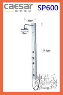 【東益氏】CAESAR凱撒精品衛浴SP600加裝型SPA淋浴柱售電光牌淋浴柱滑桿