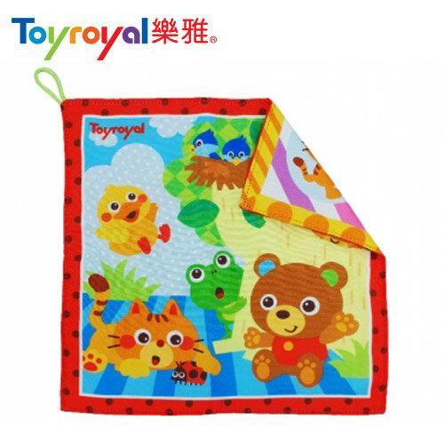【安琪兒】日本【ToyRoyal 樂雅】動物森林系列-安撫手帕(2m+) - 限時優惠好康折扣