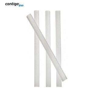 【安琪兒】美國【CONTIGO】Striker更換式兒童吸管杯吸管 -91mm(4入)