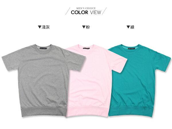 ☆BOY-2☆【NM1052】韓版休閒素面型男短袖T恤 1