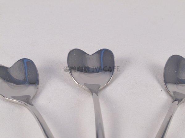 《愛鴨咖啡》心型咖啡匙 心型蛋糕匙 攪拌匙