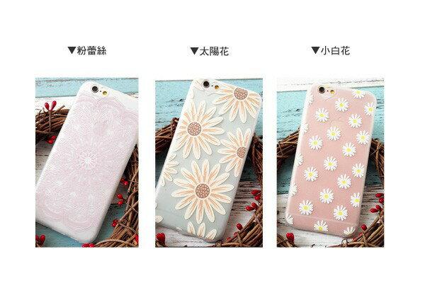 ☆BOY-2☆【N4056】小清新手繪花手機殼 iPhone6 6plus 3