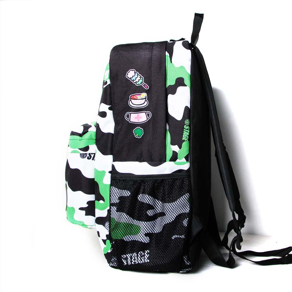 STAGE BAG × UNCLES FRIENDS CANCER BACKPACK 綠黑色 巨蟹座 3