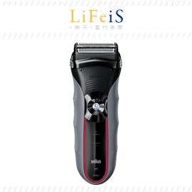 日本原裝 BRAUN 百靈【320S-5】電動刮鬍刀 浮動三刀頭 網狀刀頭緊貼密合 水洗