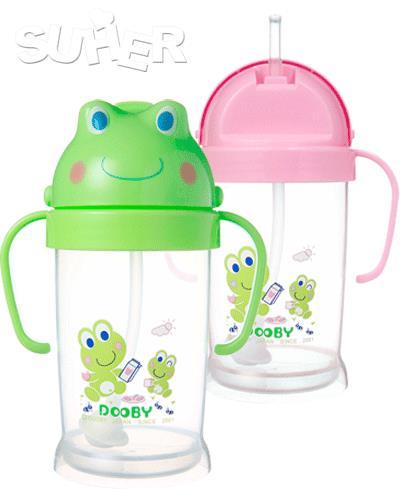 大眼蛙 Dobby 卡通神奇喝水杯 250C.C. 2款顏色 ~  好康折扣