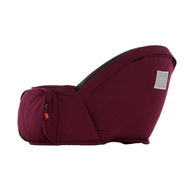 【Fisher-Price費雪】ARETE艾瑞特腰凳式揹巾(背巾)-酒紅色 2