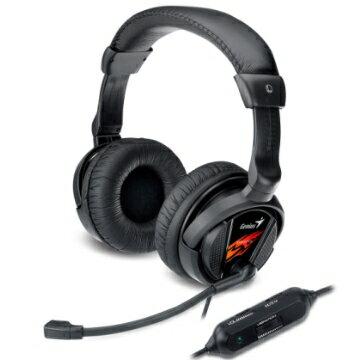 Genius HS-G500V 震動型遊戲玩家耳機麥克風.