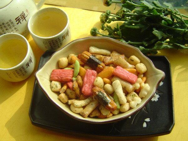 【日式和風醬太郎海苔米果 】《易買健康堅果零嘴坊》滿1000免運再送贈品.超好吃喔