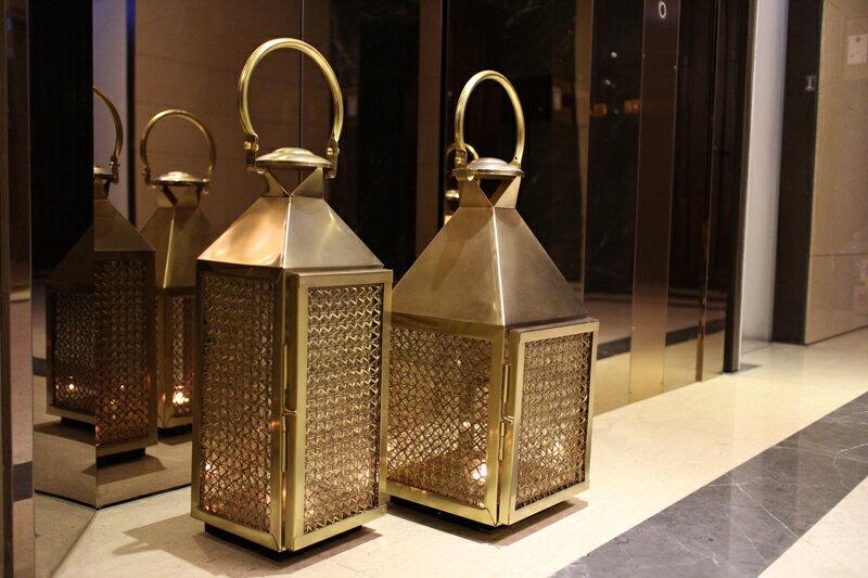 Upptäck Deco 萊佛士黃銅提燈 - 全兩個尺寸【7OCEANS七海休閒傢俱】 0