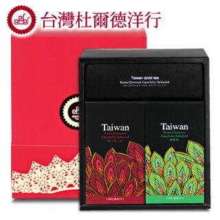 【杜爾德洋行 Dodd Tea】【嚴選2入禮盒】三峽碧螺春+三峽東方美人茶 0