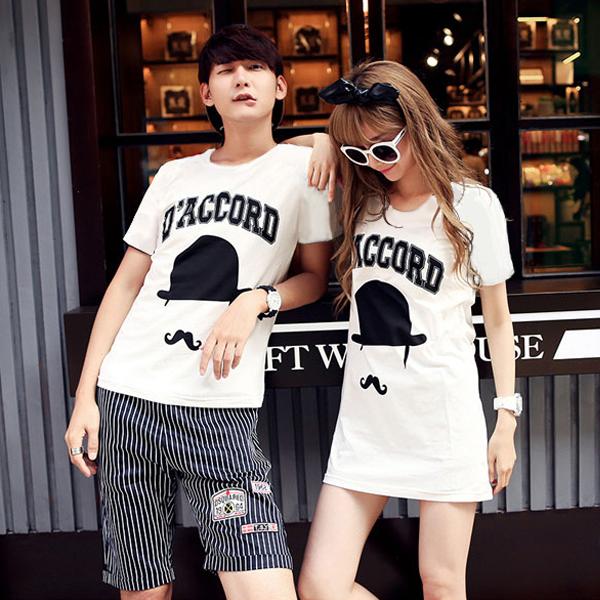 ◆ 出貨◆T恤.情侶裝.班服.MIT 製. 配對情侶裝.客製化.純棉短T. DACCORD